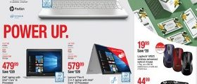 Staples Weekly Ads October 28 - November 3, 2018. Power Up!