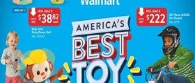 Walmart Circular October 12 – October 31, 2018. Best Toy Shop!