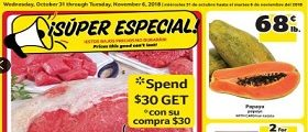 Winn Dixie Weekly Ad October 31 - November 6, 2018. Cold Water Lobster Tail
