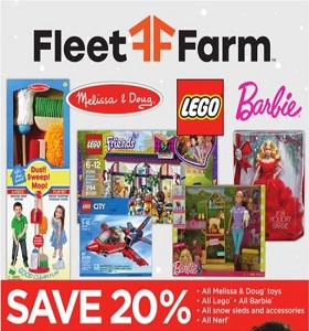 Fleet Farm Weekly Ad November 23 - December 1, 2018. BOGO Event!