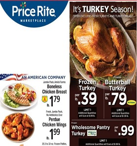 Price Rite Weekly Ad November 2 - November 8, 2018. Perdue Chicken Wings