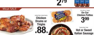 Price Rite Weekly Ad November 23 - November 29, 2018. On-Cor Chicken Patties