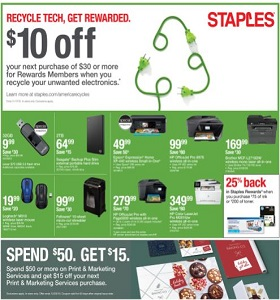 Staples Weekly Ad November 11 - November 17, 2018. Unbeatable Prices!