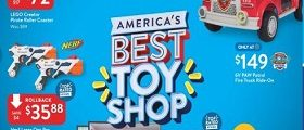 Walmart Circular November 2 – December 24, 2018. America's Best Toy Shop!