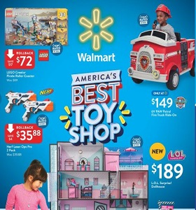 Walmart Circular November 2 - December 24, 2018. America's Best Toy Shop!