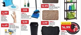 Aldi Weekly Ad December 26, 2018 - January 1st, 2019. Easy Home Spin Mop