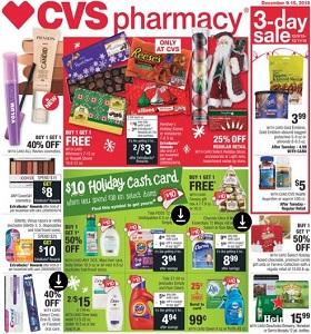 CVS Weekly Circular December 9 - December 15, 2018. Holiday décor on Sale!