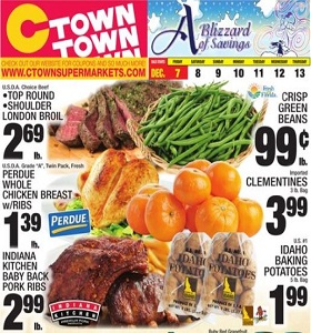 Ctown Weekly Ad December 7 - December 13, 2018. A Blizzard of Savings!