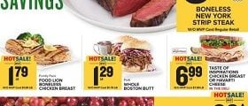 Food Lion Weekly Circular December 5 - December 11, 2018. Sizzling Holiday Savings!