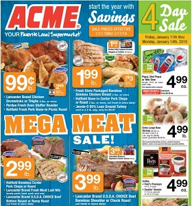 Acme Weekly Flyer January 11 - January 17, 2019. Start The Year With Savings!