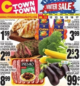 Ctown Weekly Circular January 11 - January 17, 2019. Winter Sale!