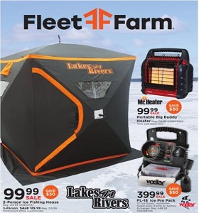 Fleet Farm Weekly Ad November 11 - November 19, 2019. Bring On The Snow Season!