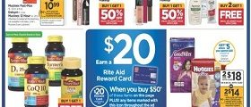 Rite Aid Weekly Ad January 6 - January 12, 2019. L'Oréal Makeup on Sale!