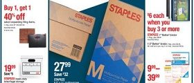 Staples Weekly Circular January 20 - January 26, 2019. Lowest Prices Of The Year!