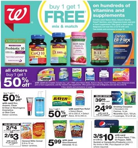 Walgreens Weekly Ad January 13 - January 19, 2019. Neutrogena Cosmetics on Sale!