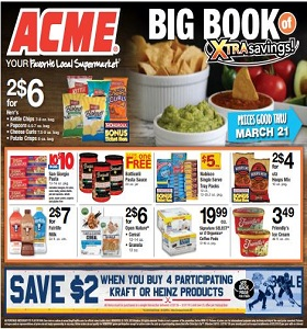Acme Weekly Flyer February 22 - February 28, 2019. Xtra Savings!