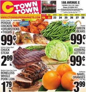 Ctown Weekly Ad February 22 - February 28, 2019. Perdue Chicken Drumsticks on Sale!