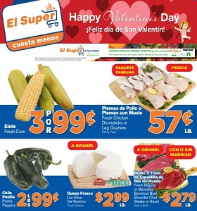 El Super Weekly Ad February 6 - February 12, 2019. Happy Valentine's Day!