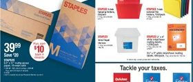 Staples Weekly Circular February 24 - March 2, 2019. Restock, Get Rewarded!