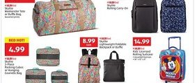 Aldi Weekly Ad March 13 - March 19, 2019. Skylite Rolling Carry-On