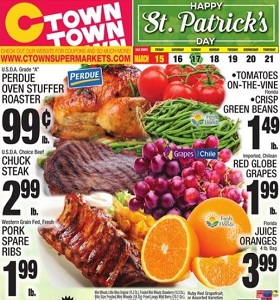 Ctown Weekly Ad March 15 - March 21, 2019. Happy St. Patrick's Day!