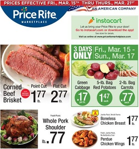 Price Rite Weekly Flyer March 15 - March 21, 2019. Whole Pork Shoulder