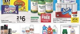 Rite Aid Weekly Ad March 10 - March 16, 2019. Vitamins & Supplements on Sale!