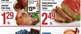 Shaw's Weekly Circular March 29 - April 4, 2019. Oven Stuffer Roaster Chicken
