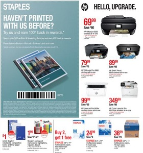 Staples Weekly Ad March 17 - March 23, 2019. Hello, Upgrade!