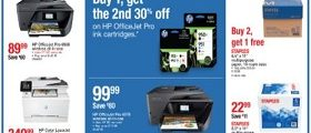Staples Weekly Ad March 24 - March 30, 2019. Print Solutions!