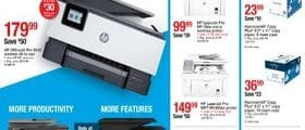 Staples Weekly Ad March 31 - April 6, 2019. The Reinvented HP OfficeJet Pro!