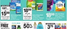 Walgreens Weekly Ad March 17 - March 23, 2019. Relief For Less!