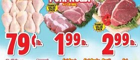 Western Beef Weekly Ad March 28 - April 3, 2019. Pork Roast on Sale!