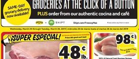 Winn Dixie Weekly Ad March 20 - March 26, 2019. Whole Pork Shoulder on Sale!