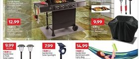 Aldi Weekly Circular April 17 - April 23, 2019. Range Master 4 Burner Gas Grill