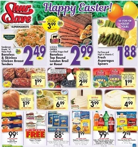 Gerrity's Weekly Flyer April 14 - April 20, 2019. Happy Easter!
