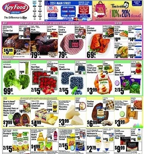 Key Food Weekly Ad April 19 - April 25, 2019. Amy's Frozen Full Line Sale!