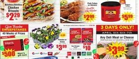 Marc's Weekly Ad April 3 - April 9, 2019. Tyson Chicken Breasts on Sale!