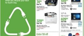 Staples Weekly Deals April 21 - April 27, 2019. Recycle Tech!