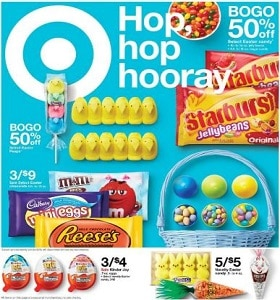 Target Weekly Ad April 14 - April 20, 2019. Celebrate Easter!
