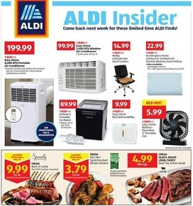Aldi Weekly Flyer May 29 - June 4, 2019. Sleep Under The Stars & Save!