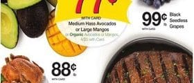 Kroger Weekly Ad May 29 - June 4, 2019. Medium Hass Avocados on Sale!