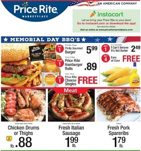 Price Rite Weekly Ad May 24 - May 30, 2019. Memorial Day BBQ's!