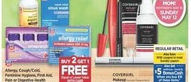 Rite Aid Weekly Ad May 12 - May 18, 2019. Covergirl Makeup on Sale!
