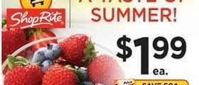ShopRite Weekly Flyer May 26 - June 1, 2019. A Taste Of Summer!