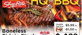 ShopRite Weekly Ad May 12 - May 18, 2019. Home Grilling Family Meals!
