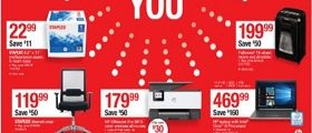 Staples Weekly Circular May 5 - May 11, 2019. Celebrating You!