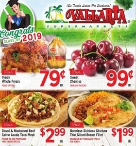 Vallarta Weekly Ad May 15 - May 21, 2019. Sweet Cherries on Sale!