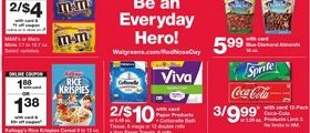 Walgreens Weekly Ad May 19 - May 25, 2019. Red Nose Day!