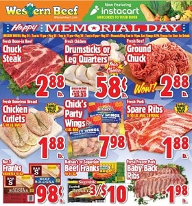 Western Beef Weekly Ad May 23 - May 29, 2019. Happy Memorial Day!